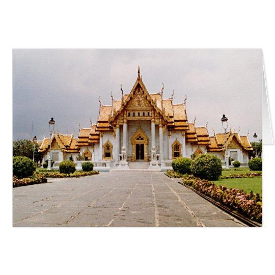 Marmeren Tempel van Goud over de Khmer Kaart van