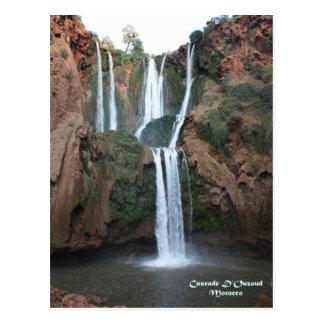 Maroc-Cascade D'Ouzoud Carte Postale