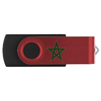 Marokkaanse vlag swivel USB 2.0 stick