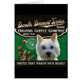 Marque de Dandie Dinmont Terrier Carte
