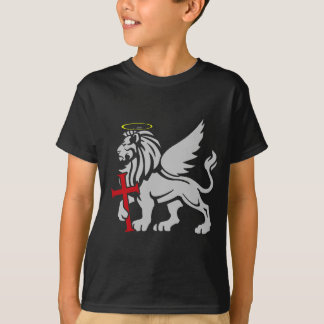 Marque de saint l'emblème de bouclier d'apôtre t-shirt