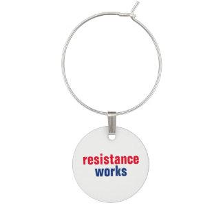 Marque-verres Les travaux de résistance résistent persistent