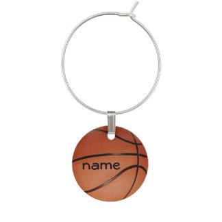 Marque-verres Marque - verre de conception de basket-ball
