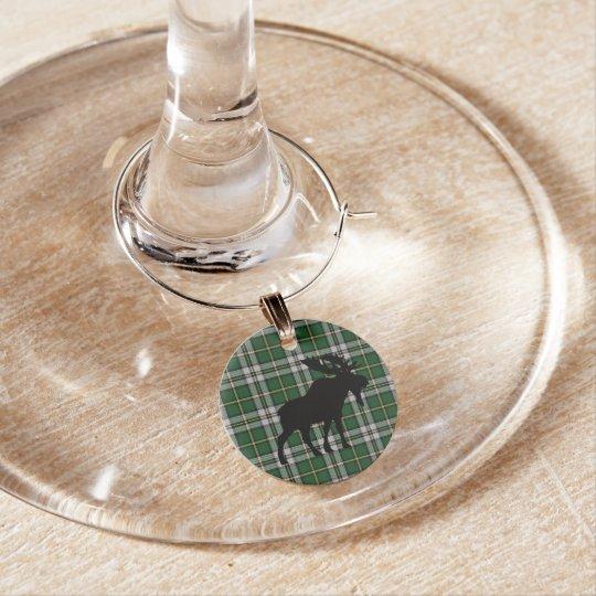 Marque-verres Orignaux bretons de marque - verres de Noël de