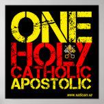 Marques de l'église catholique posters