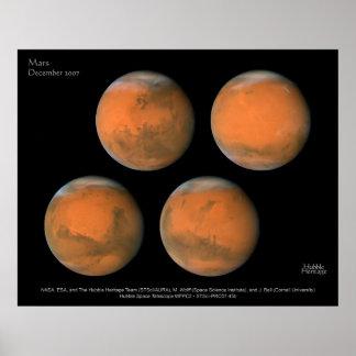 Mars December 2007 Poster