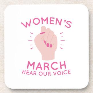 Mars des femmes sous-bock