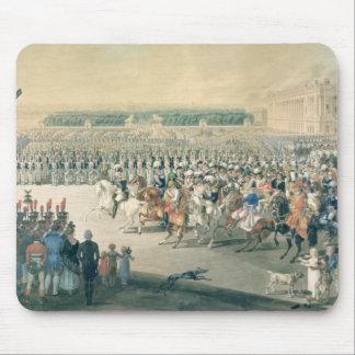 Mars des forces alliées dans Paris, 1815 Tapis De Souris
