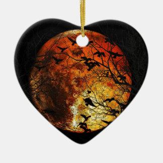 Mars Ornement Cœur En Céramique