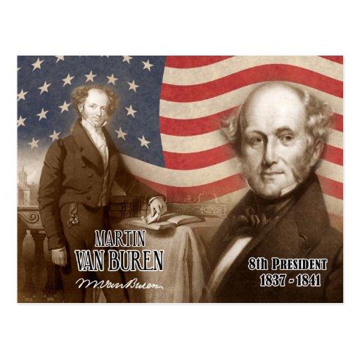 Martin Van Buren - 8ste President van de V.S. Wens Kaart