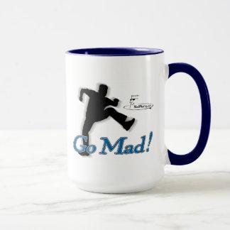 """Marty fou """"deviennent fous !"""" Tasse de café"""