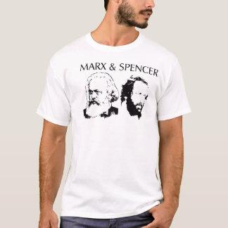 Marx et T-shirt de Spencer
