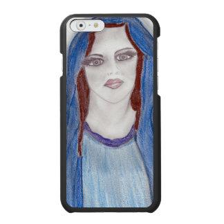 Mary dans le bleu coque-portefeuille iPhone 6 incipio watson™