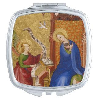 Mary et ange d'annonce