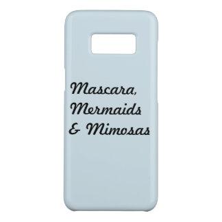 Mascara, sirènes et mimosas coque Case-Mate samsung galaxy s8
