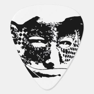 Masker Gitaar Plectrum 0