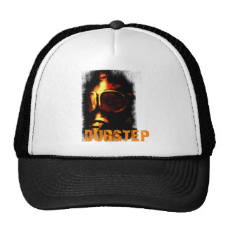 Masque de gaz orange de Dubstep Casquettes De Camionneur