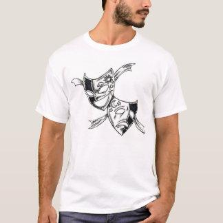 Masques de drame t-shirt