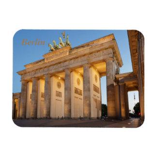 Massif de roche de Brandenburger à Berlin Magnet Flexible