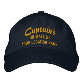MATE de capitaine personnalisez-le ! Casquette