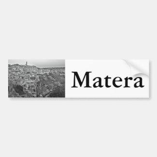 Matera dans Basilicate, Italie Autocollant De Voiture