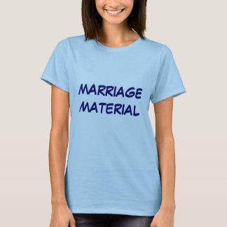 MATÉRIEL DE MARIAGE T-SHIRT
