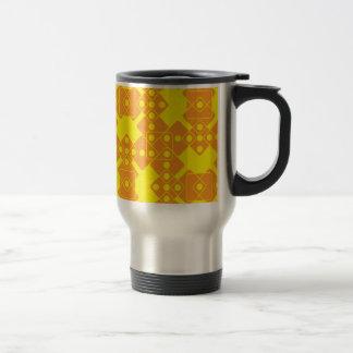 Matrices jaunes mug de voyage