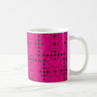 Matrices noires mug blanc