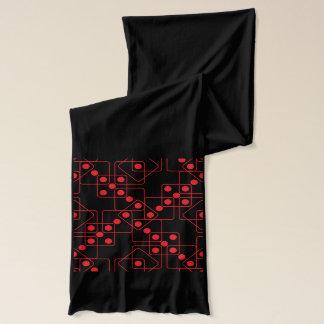 Matrices rouges écharpe