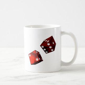 Matrices rouges mug blanc
