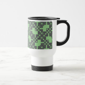 Matrices vertes mug de voyage