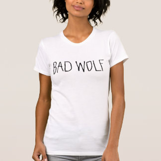 Mauvais T-shirt de la science fiction de loup