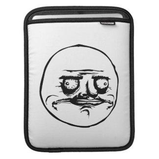 Me Gusta Gezicht Meme iPad Beschermhoes