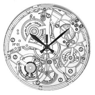 M canisme vintage pendules for Mecanisme horloge murale