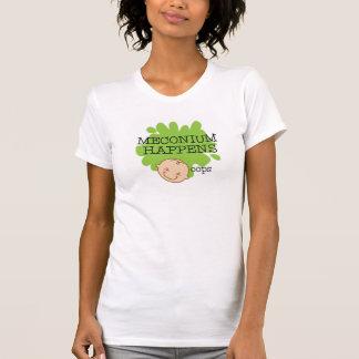 Meconium se produit chemise t-shirt
