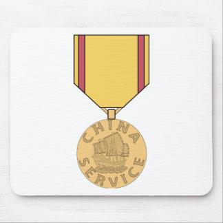 Médaille de service de la Chine Tapis De Souris