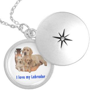 Médaillon Avec Fermoir Aimez mon Labrador