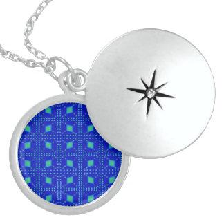 Médaillon Avec Fermoir Bleu de Lulu