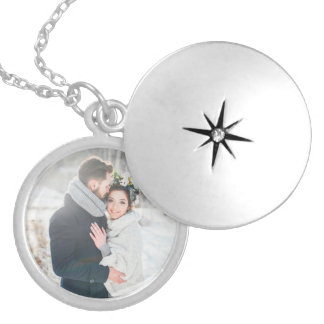 Médaillon Avec Fermoir Cadeau romantique | votre photo personnelle