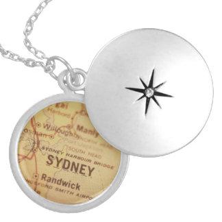Médaillon Avec Fermoir Carte de cru de SYDNEY