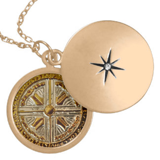 Médaillon Avec Fermoir Clé portaile angélique - talisman d'Arkhangel