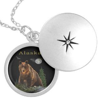 Médaillon Avec Fermoir Marchandises d'état de l'Alaska