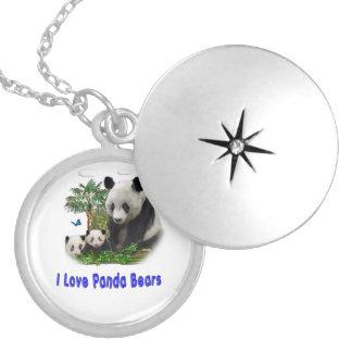 Médaillon Avec Fermoir Marchandises d'ours panda