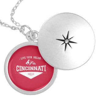 Médaillon Avec Fermoir Vivent votre Cincinnati rêveur Ohio