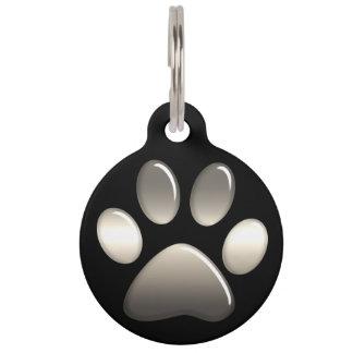 Médaillon Pour Animaux Étiquette d'identification d'animal familier -
