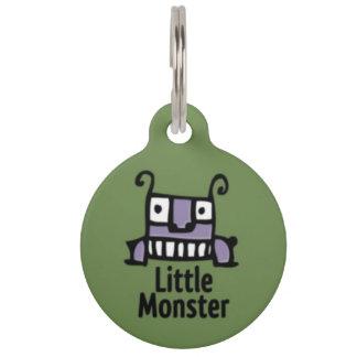 Médaillon Pour Animaux Petite étiquette d'identification d'animal