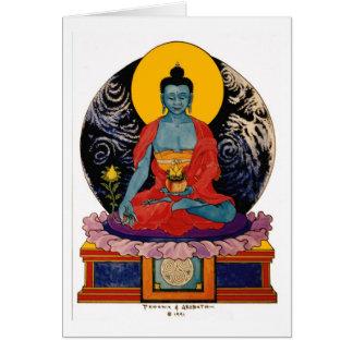 Médecine Bouddha de la terre Carte