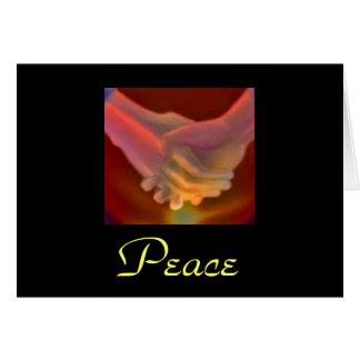 medeleven, Vrede Wenskaart