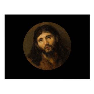 Medelevende Ogen Jesus Briefkaart