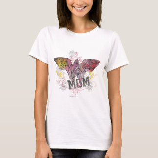 Médias mélangés de maman de merveille t-shirt